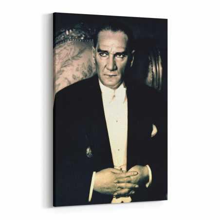 Atatürk Kanvas Tablosu