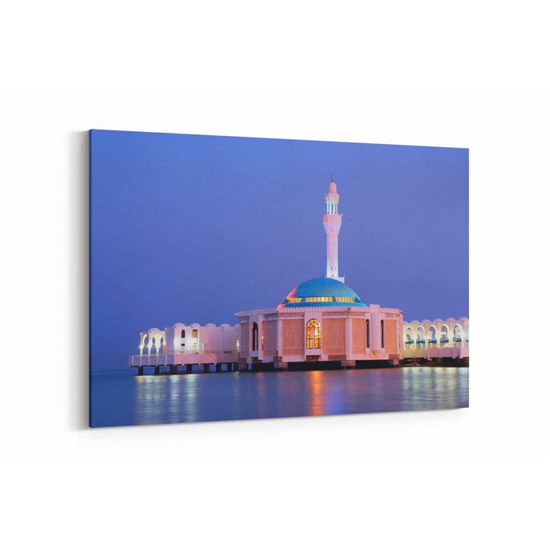 Jeddah Camii Kanvas Tablosu