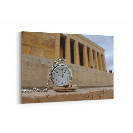 Anıtkabir Saat 9:05 Kanvas Tablosu