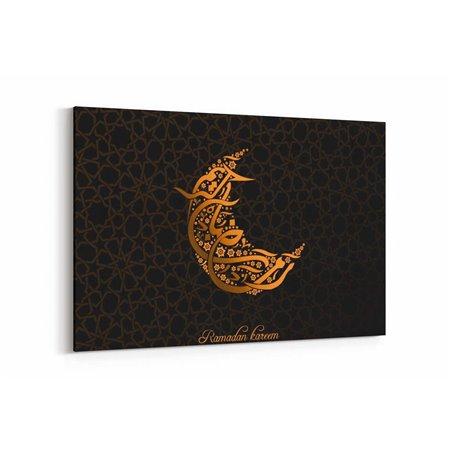 Ramazan Motifli Kanvas Tablosu