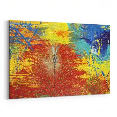 Modern Sanat Kanvas Tablo