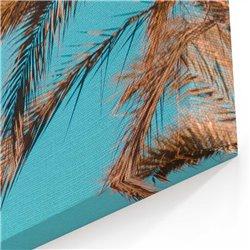 Palmiye Kanvas Tablosu
