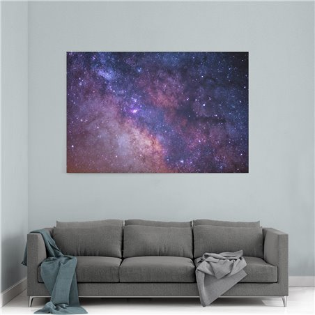 Uzay ve Yıldızlar Kanvas Tablosu