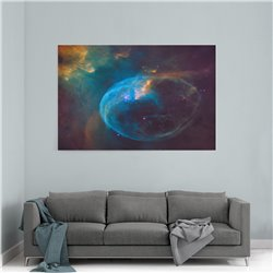 Kozmik Patlama Kanvas Tablosu
