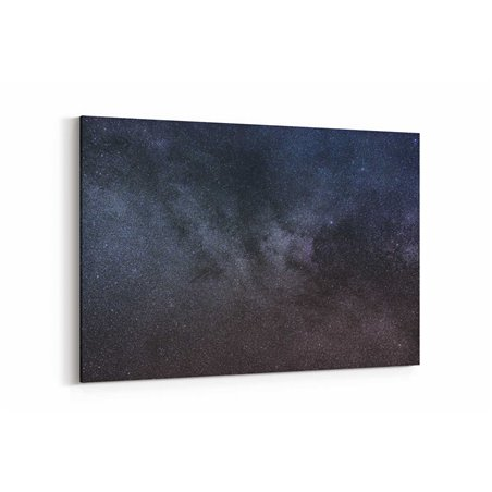 Karanlık Gökyüzü Kanvas Tablosu