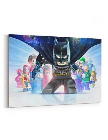 Lego - Batman Kanvas Tablo