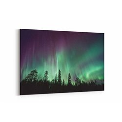 Aurora Borealis Kanvas Tablosu