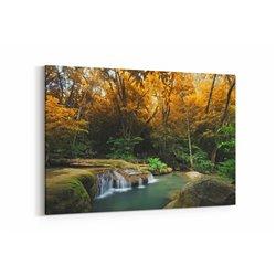 Yeşil Orman Kanvas Tablosu
