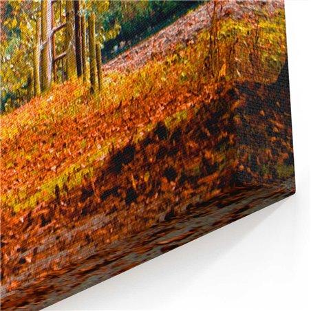 Orman içi Patika Kanvas Tablosu