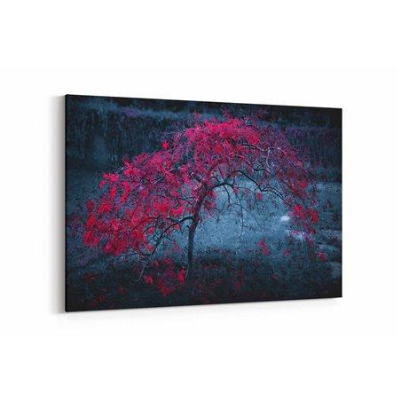 Yalnız Ağaç Kanvas Tablosu