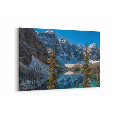 Karlı Dağlar Kanvas Tablosu