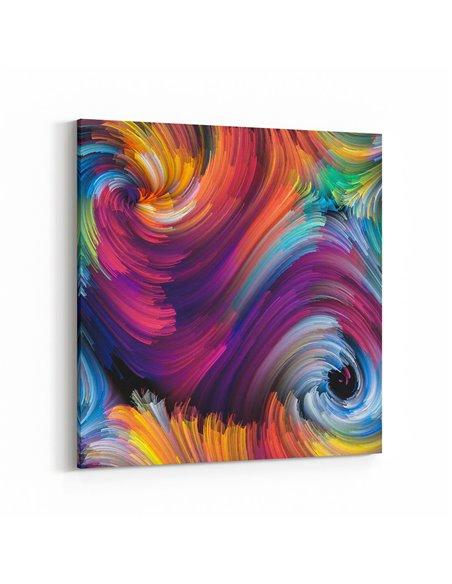 Soyut - Abstract Kanvas Tablo