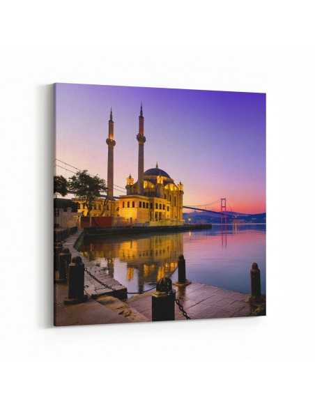 Ortaköy - İstanbul Kanvas Tablo