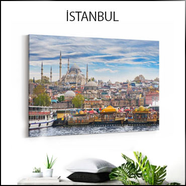 İstanbul Kanvas Tablo Kategorisi